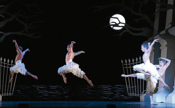 Swan Lake is heading to HMT.