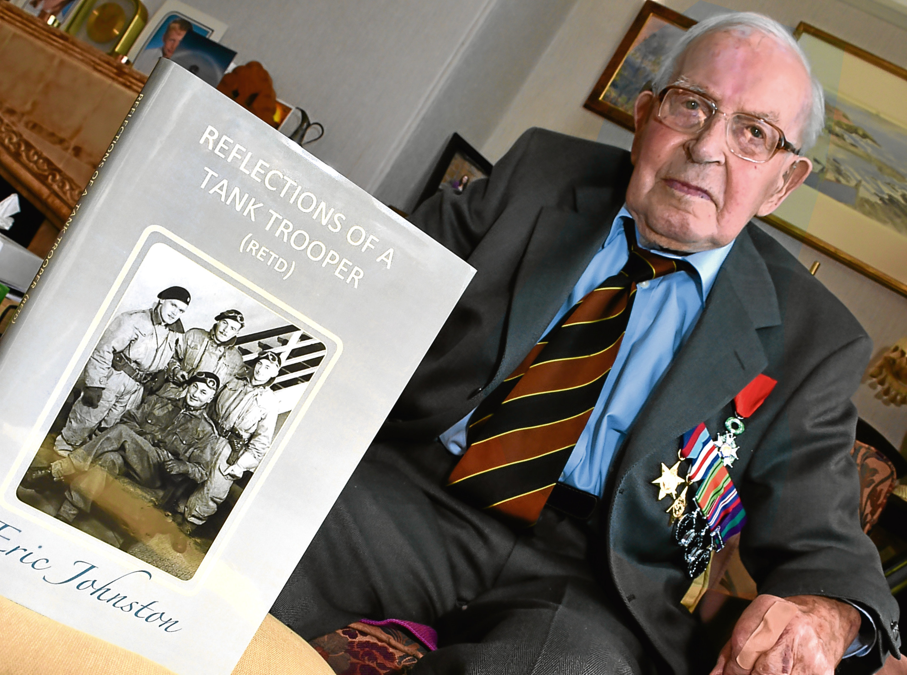 Eric Johnston has just published his book about his wartime experiences  at the age of 94.