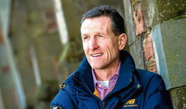Former Aberdeen player Brian Irvine.