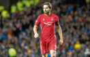 Returning skipper Graeme Shinnie netted the opening goal for Aberdeen in the Scottish Cup quarter-final.