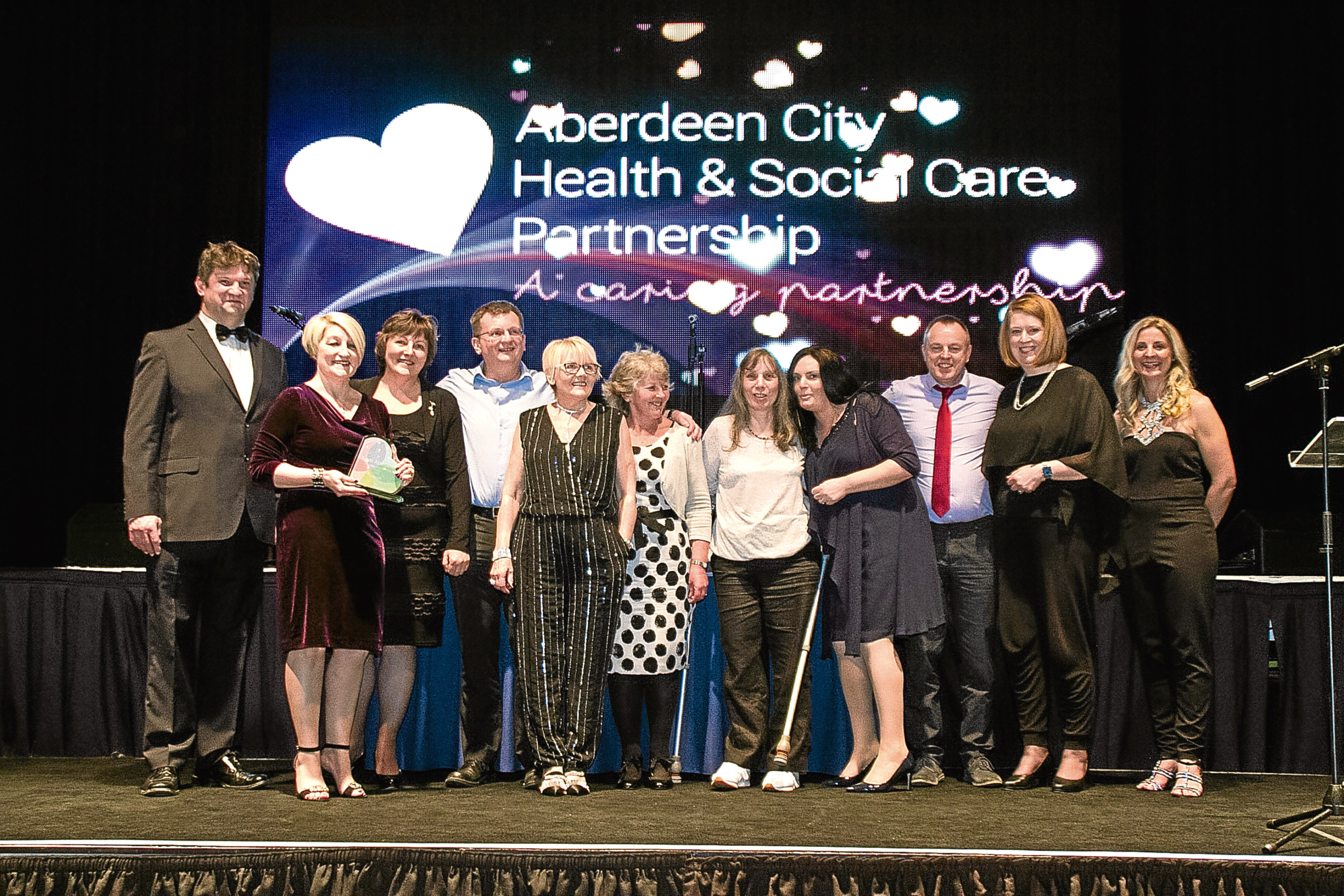 Equal Partners in Care group (EPIC) won the Integrated Working Award for their work in helping to resolve carers' issues.