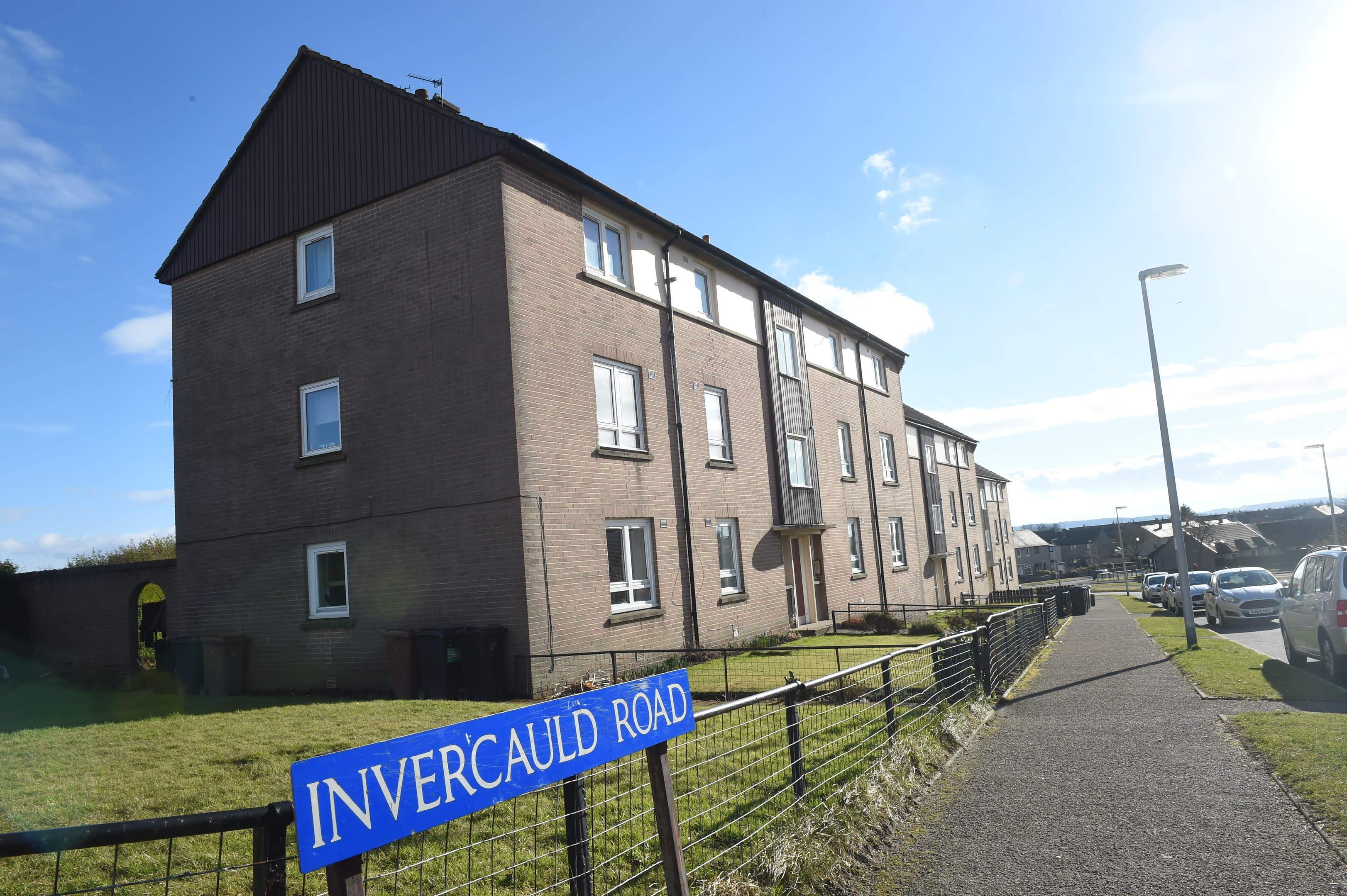 The incident happened on Invercauld Road.