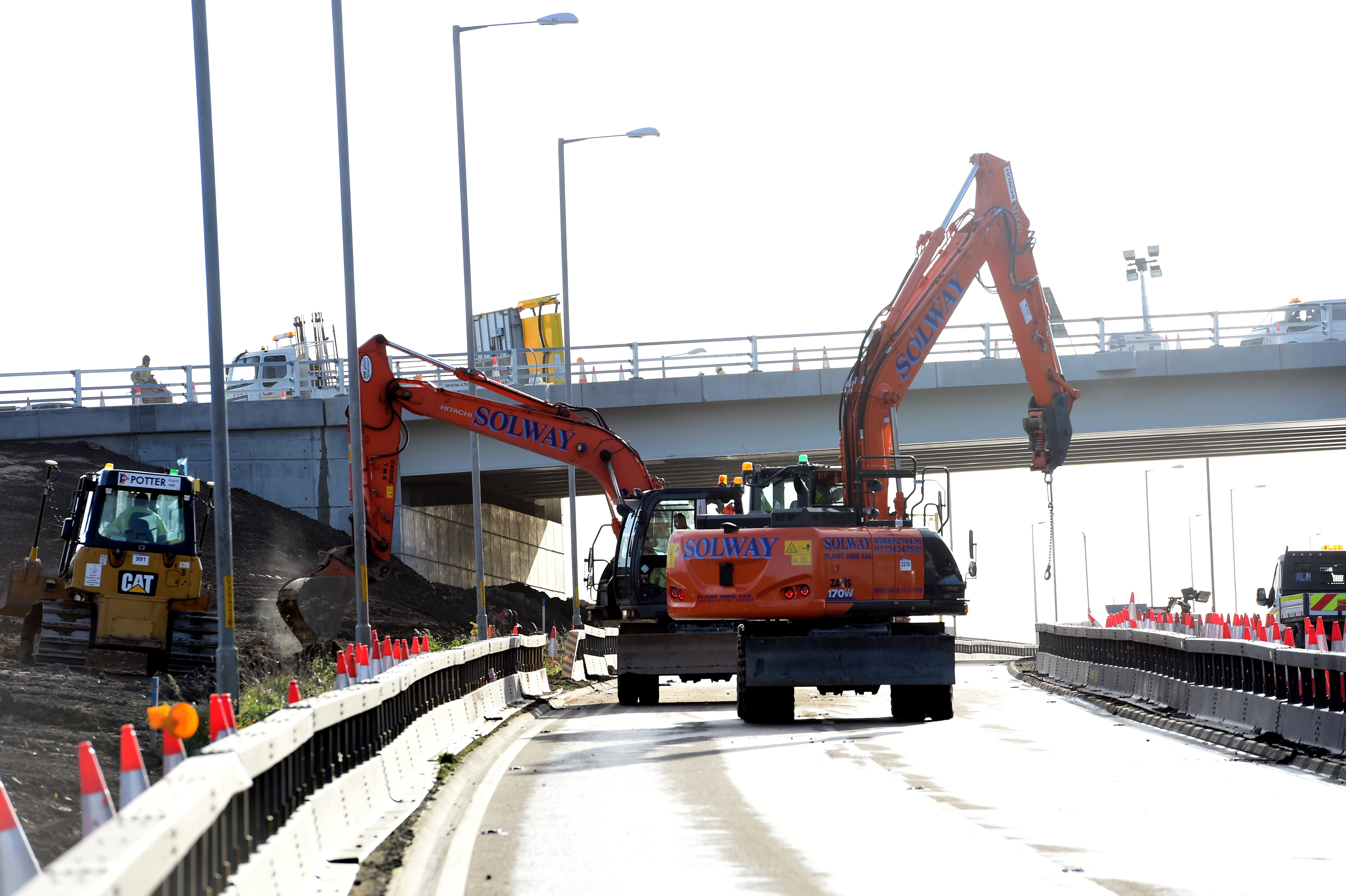 The stretch of road will be shut over the weekend.
