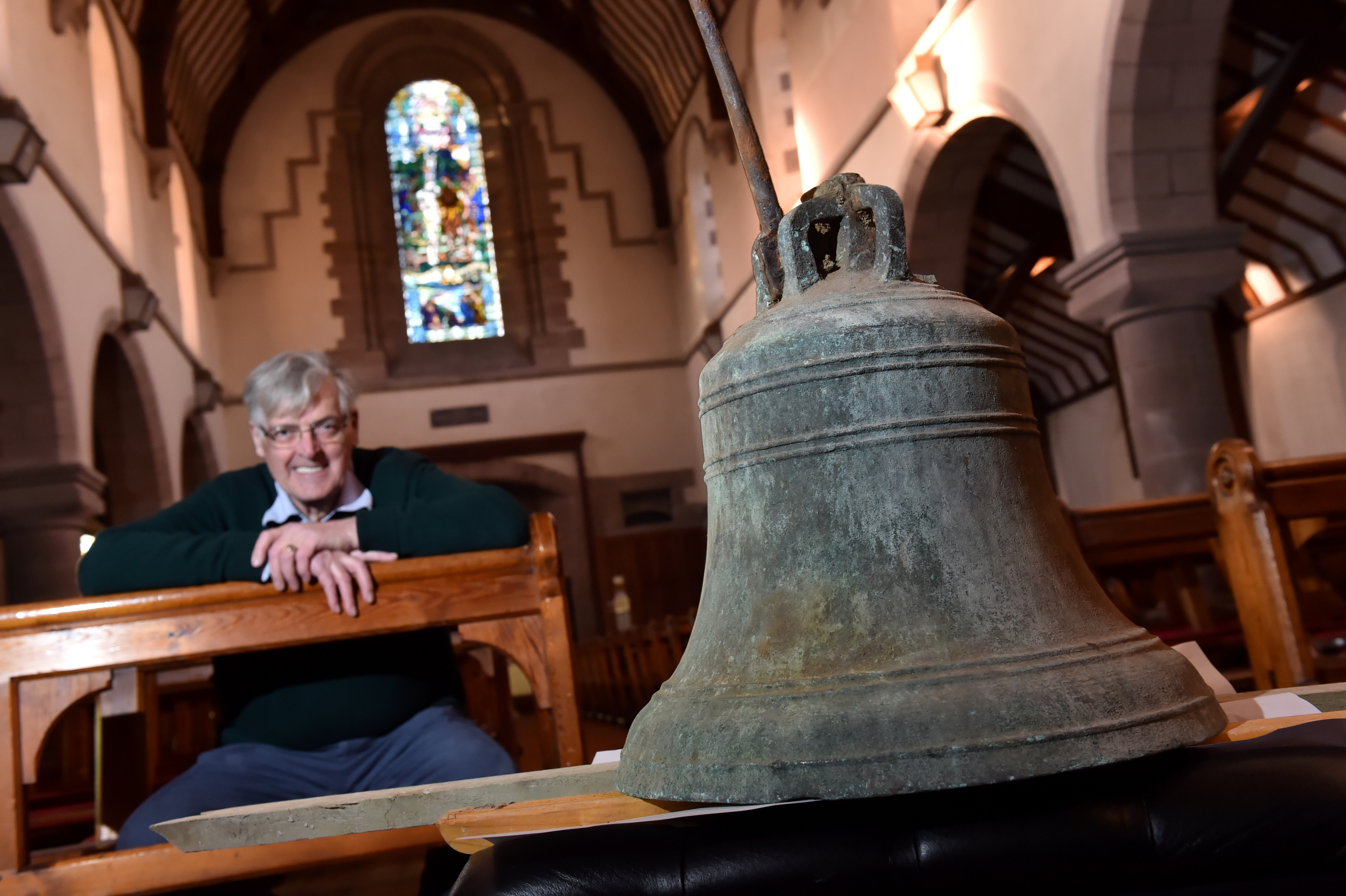 St James' Church in Stonehaven, is launching a crowd funding campaign to re-instate the recently discovered church bell.
