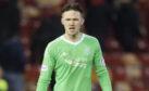Aberdeen goalkeeper Freddie Woodman.