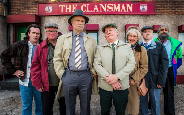 The cast of Still Game