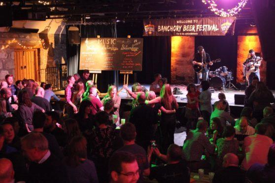 Banchory Beer Festival.