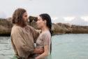 Joaquin Phoenix as Jesus Christ and Rooney Mara as Mary Magdalene.