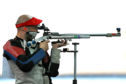 Neil Stirton shooting at Glasgow 2014.