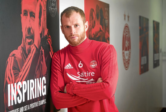 Mark Reynolds at Pittodrie