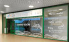 The Pop-up shop will open in the Bon Accord shopping centre