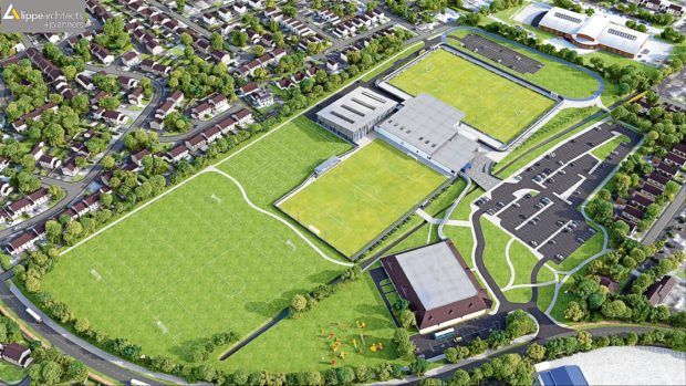 How the Garioch Sport Centre could look.