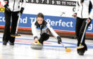 Rebecca Morrison in action at Curl Aberdeen.