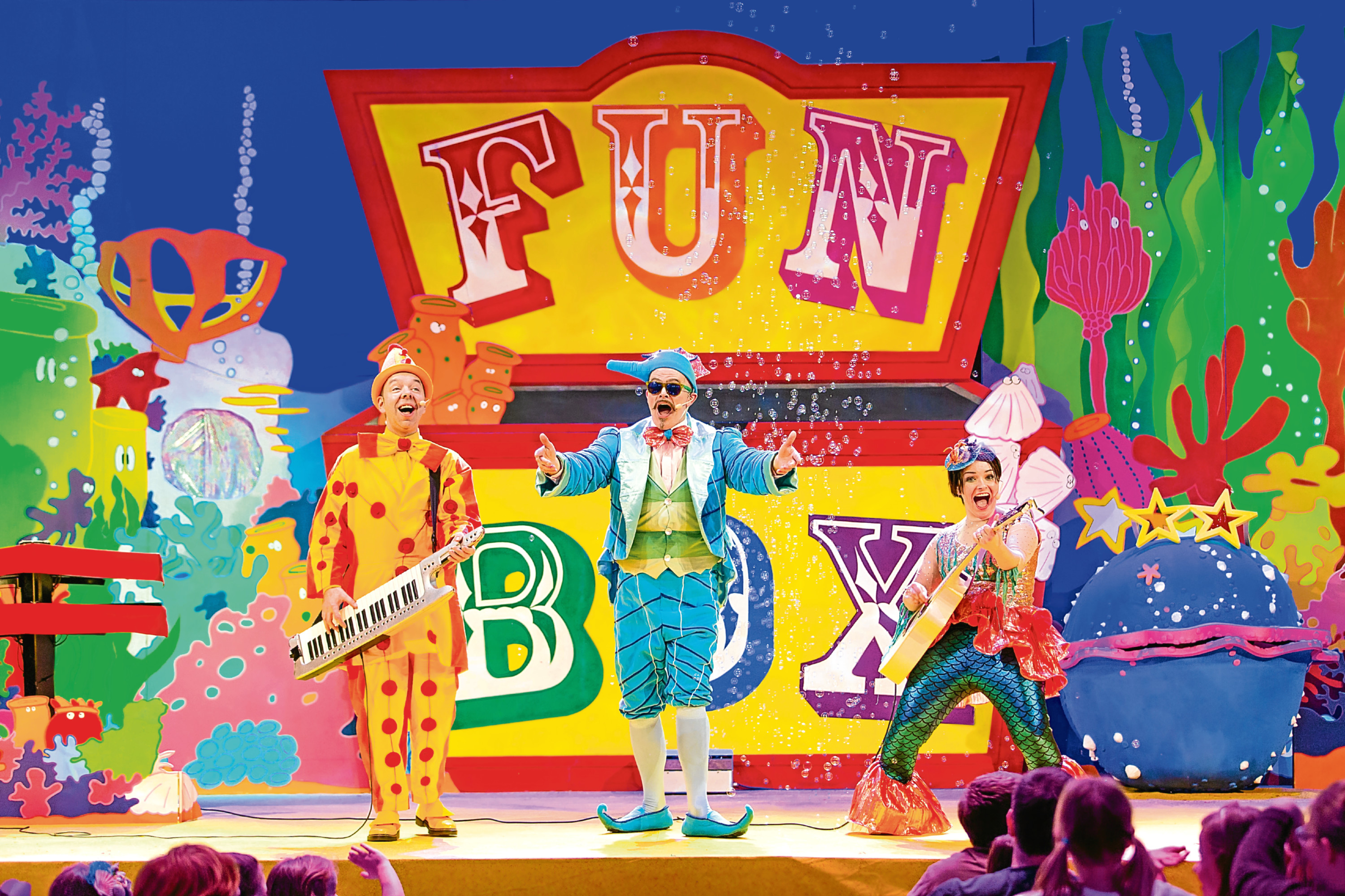Funbox will record a DVD at Portlethen Academy