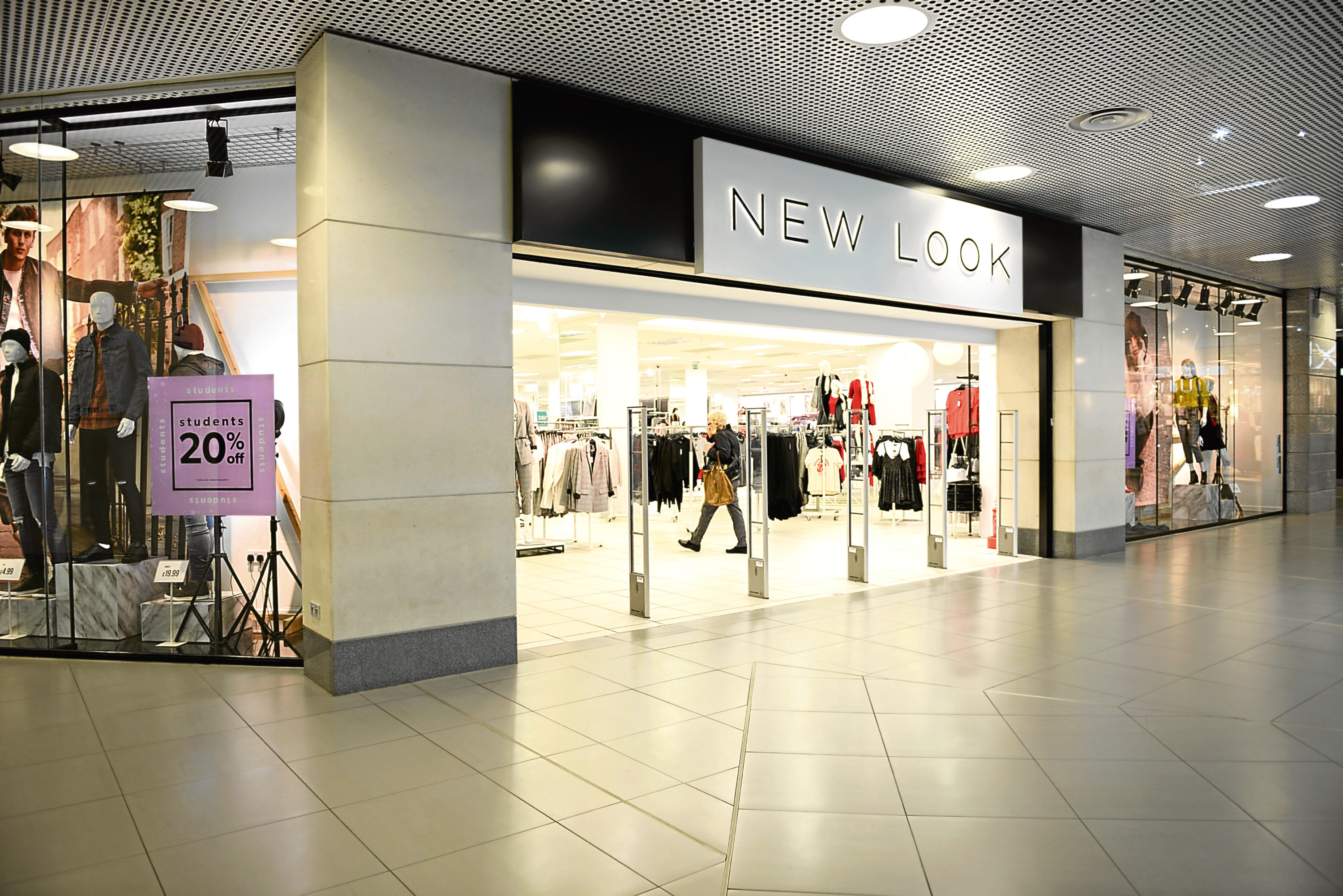 New Look in the Bon Accord Centre could close