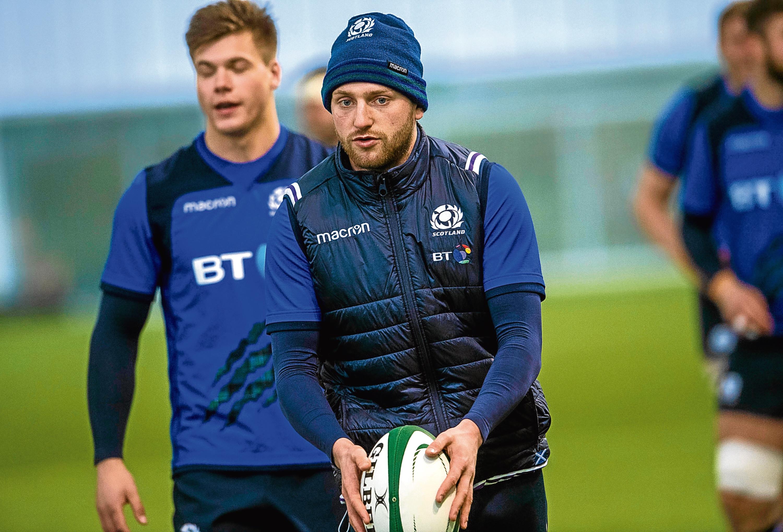 Scotland's Finn Russell.