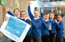 Ferryhill Primary School are the first in the UK to receive a Unicef UK Gold Award.
