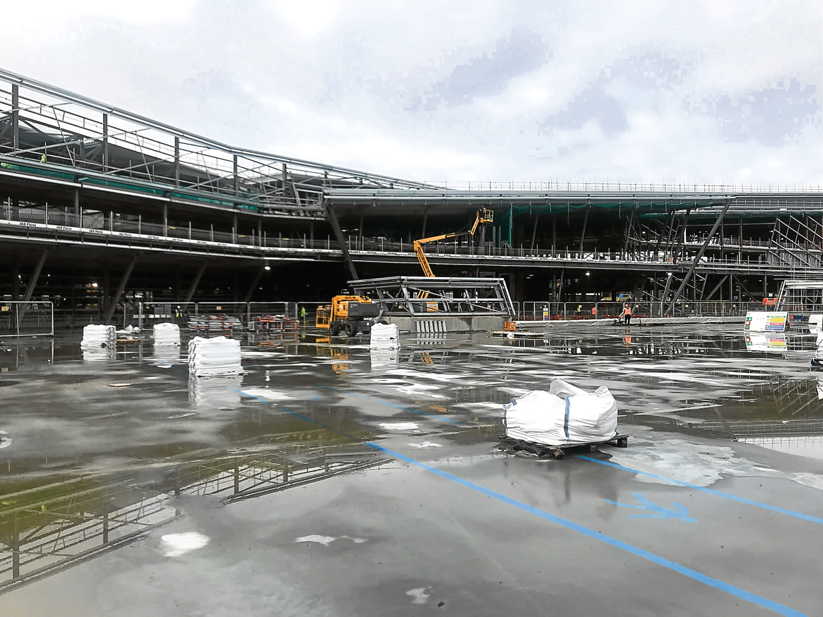 How the work on the AECC is progressing.