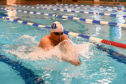 Mark Campbell of Aberdeen Dolphinsat Northfield Swimming Pool