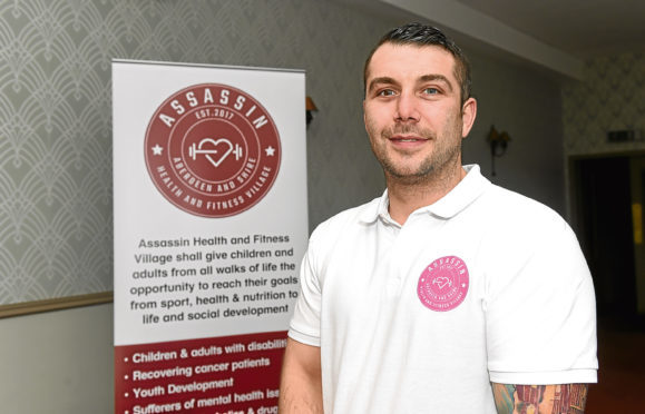 Lee McAllister at the press conference.