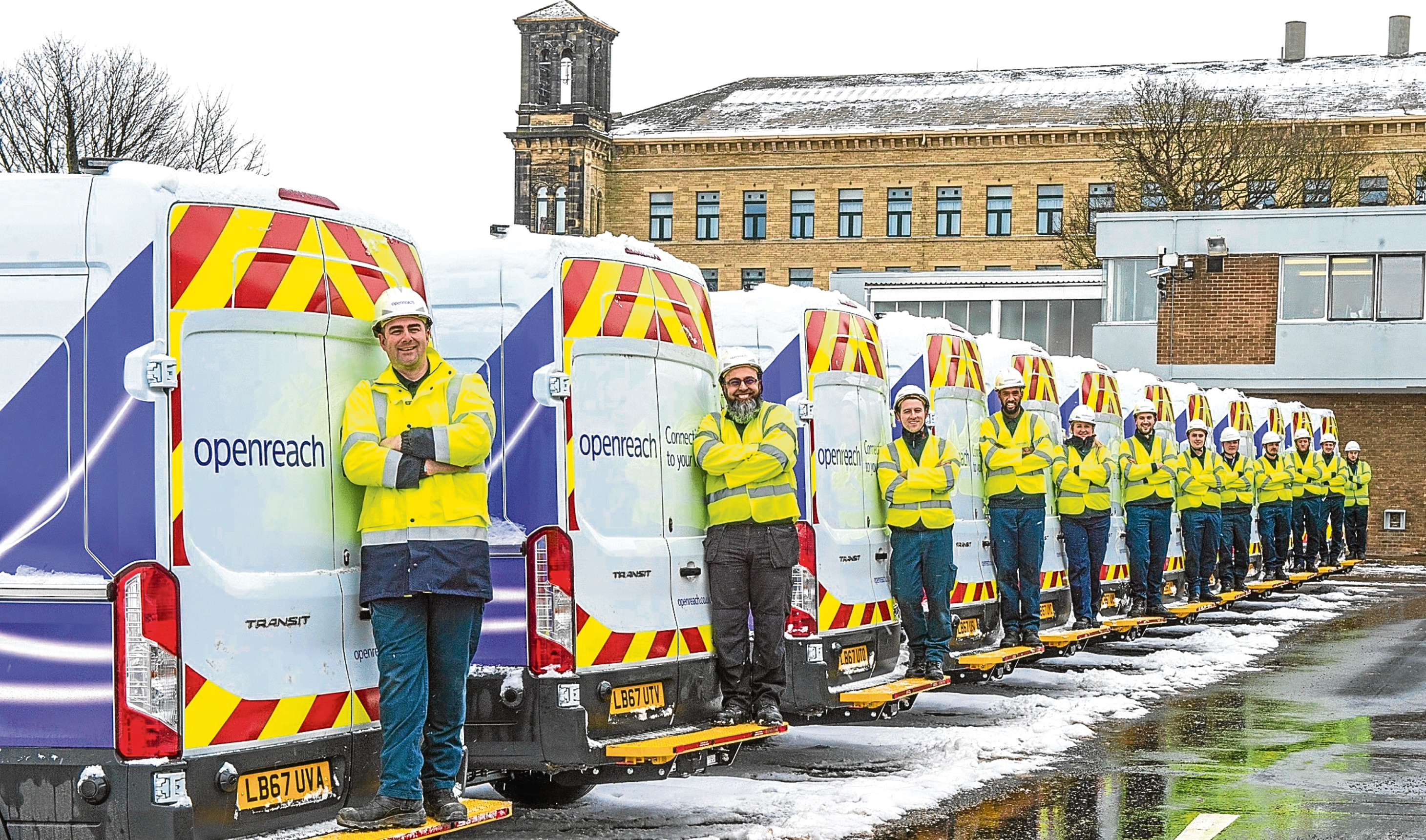 Around 40 trainee engineers will be hired across Aberdeenshire as part of the largest recruitment drive ever undertaken by Openreach.