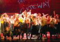 The cast performing Jabberwocky at the Margate Theatre Royal last summer.