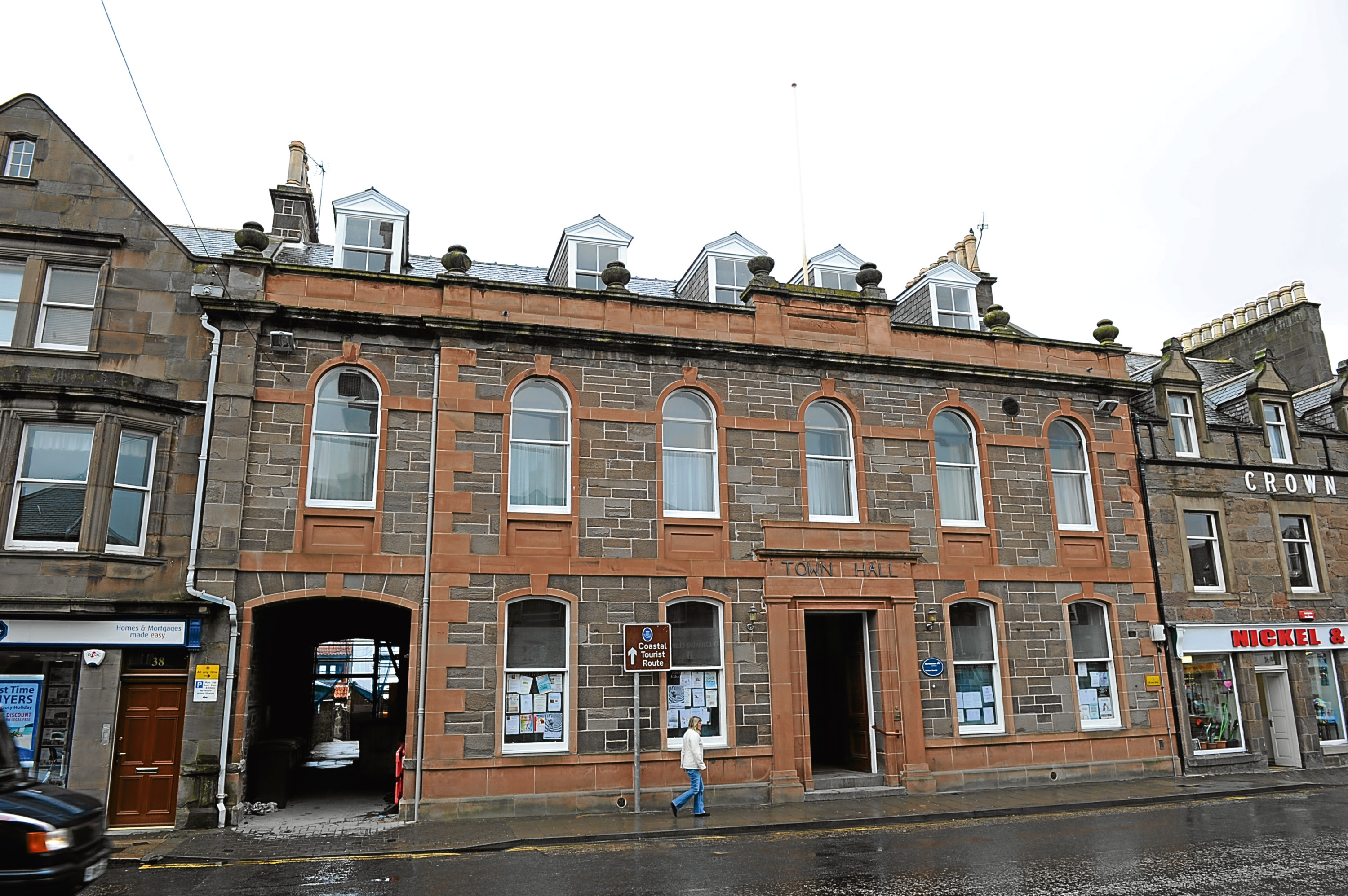 Stonehaven Town Hall.