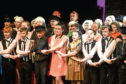 The cast of the Aberdeen Scout Gang Show.
