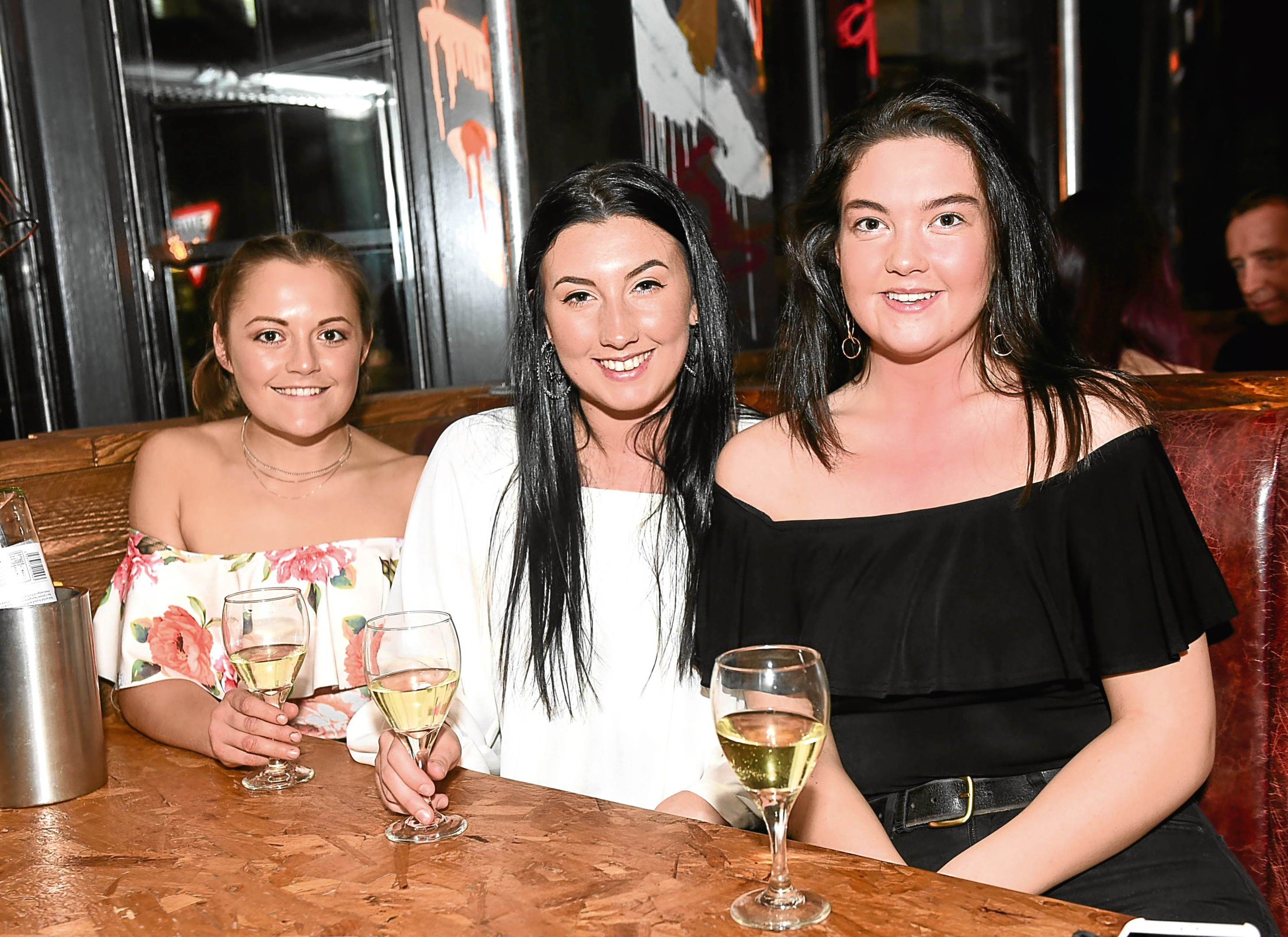 Boozy Cow: Aimee Budge, Zoe Wilson and Rhona McDonald