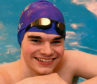 Pictured is North-east swimmer Rhys Gill, 15, who has been selected to represent Scotland at this summer's cerebral palsy world games. Picture by Chris Sumner