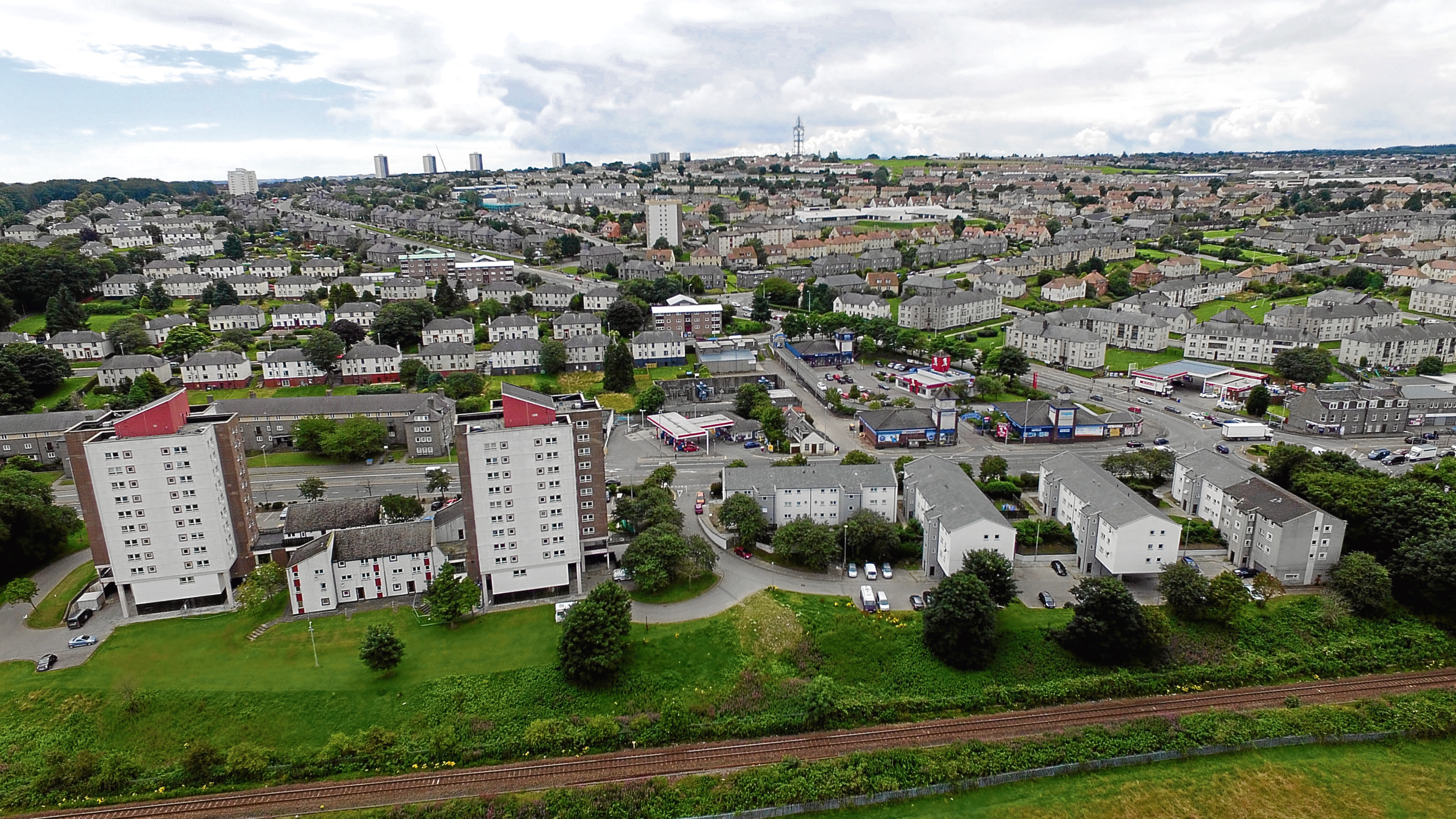 Property sales in Aberdeen fell in the last quarter of 2017.