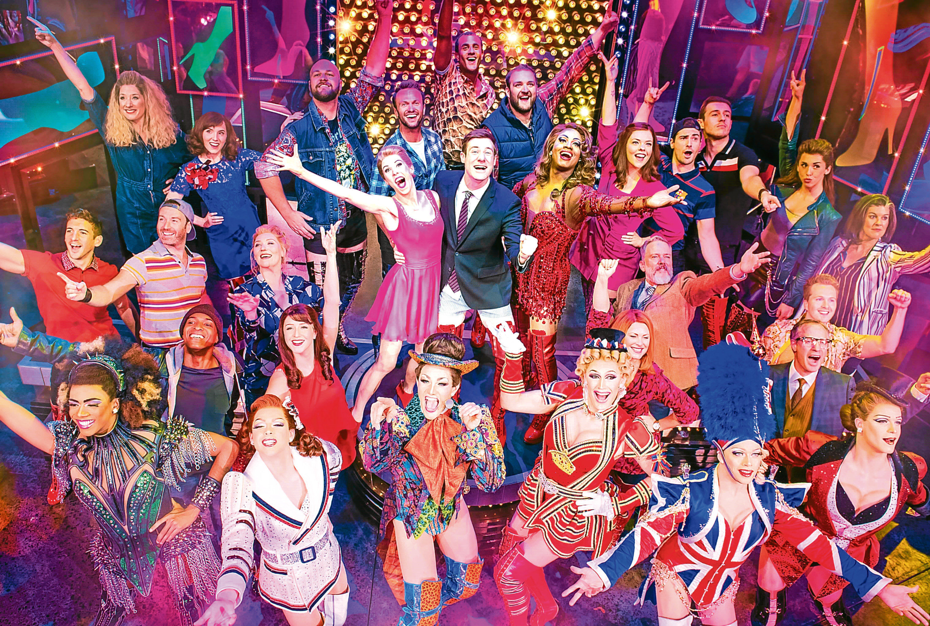 Kinky Boots has played to packed houses in the West End and is set to step into the Granite City.