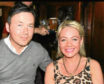 Lee Murphy who took his own life in 2014, and his partner Wendy Bendel.