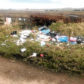 Fly-tipping at Blackhills.