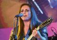 Sandi Thom on stage.