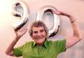 Zumba fan, Isobel Stewart, Aberdeen, celebrates her 90th birthday.  Picture by Jim Irvine  23-3-18