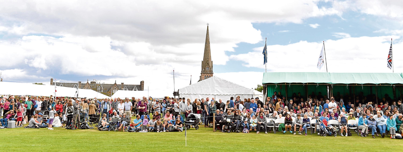 The 150th Aboyne Highland Games.