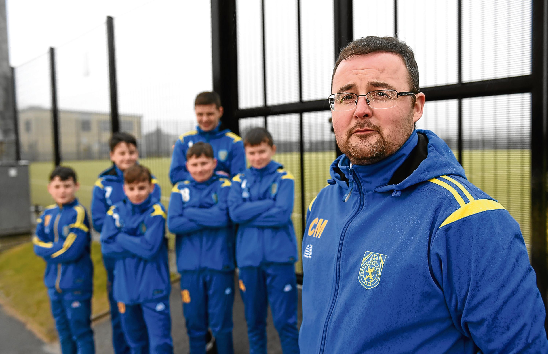 Craig McMorrin, Portlethen Sports Club secretary.