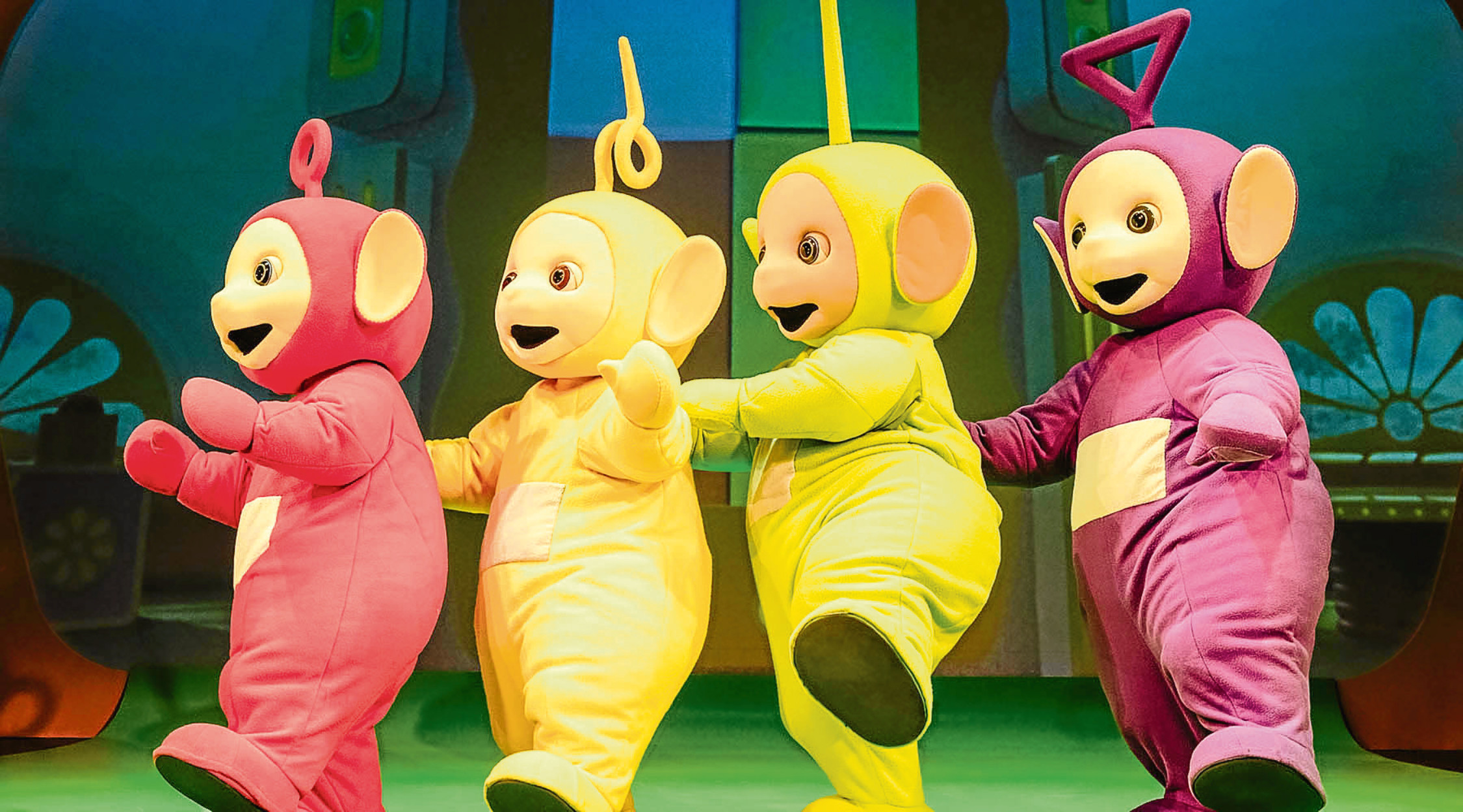 Teletubbies Live.