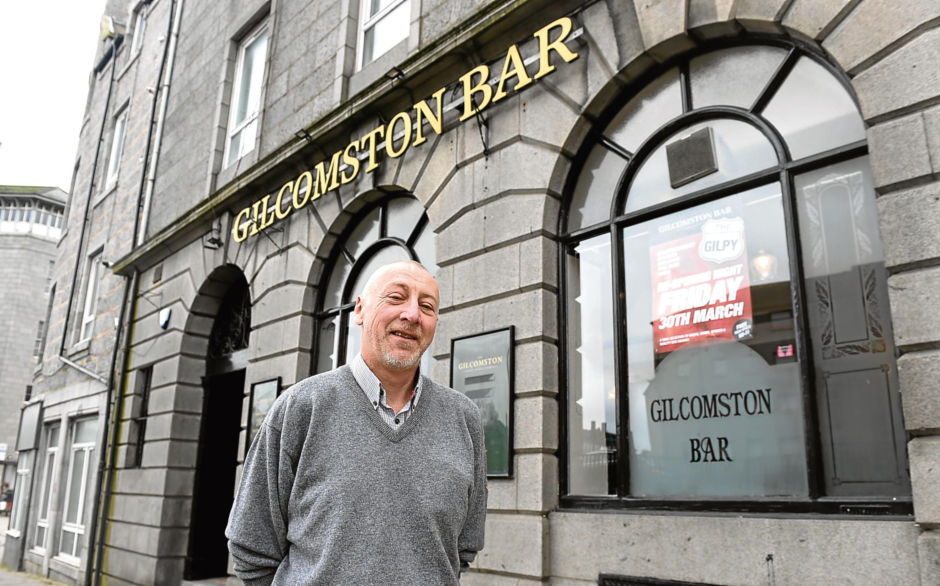 Ally is the new tenant at the Gilcomston Bar.