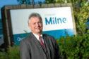 Stewart Milne Group chief executive Glenn Allison