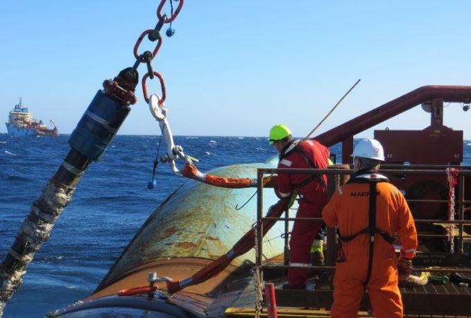 Maersk workers begin Janice decommissioning work