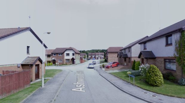 The incident happened on Ashwood Avenue in Bridge of Don