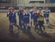 Cove U13s applaud their supporters.
