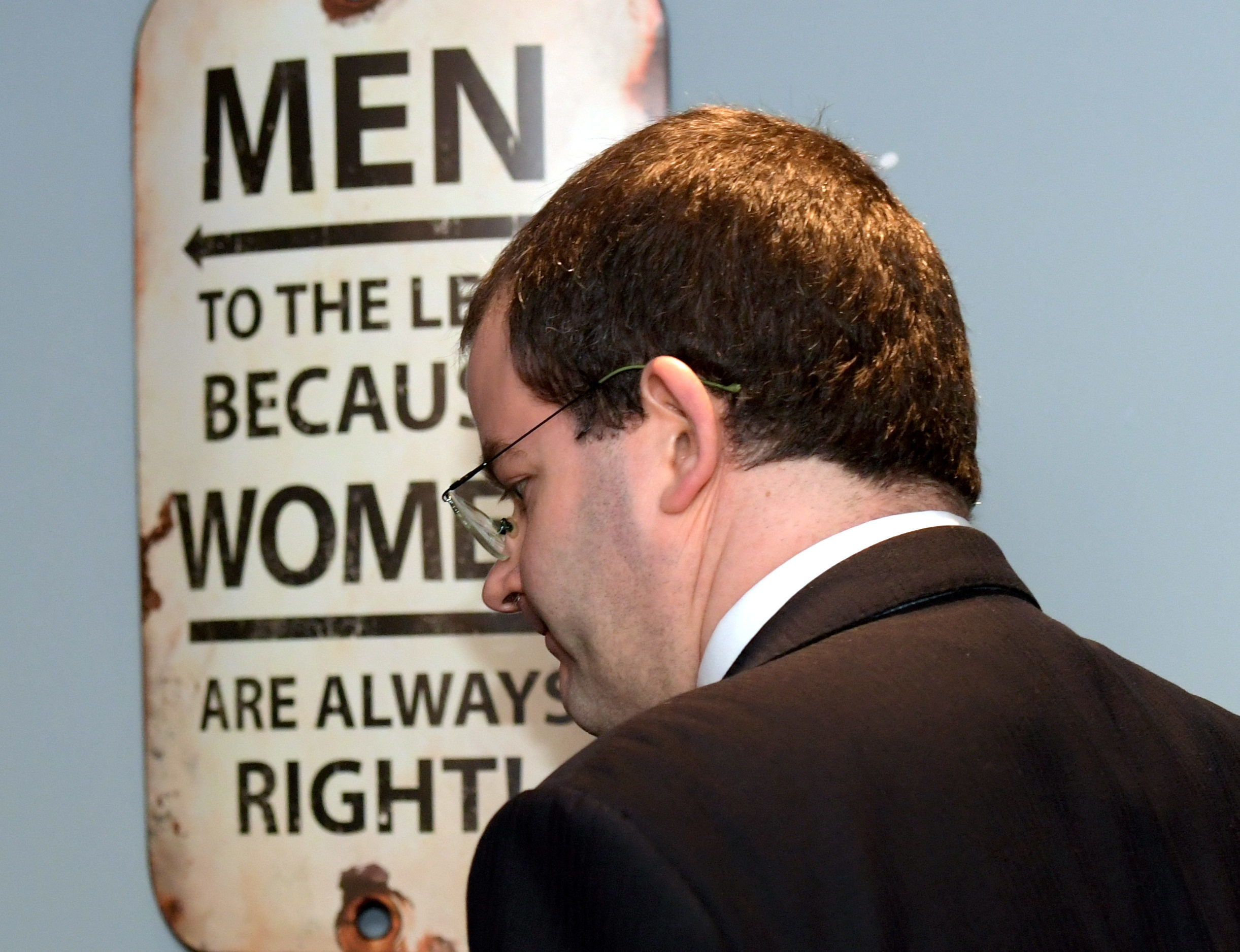Mark McDonald MSP made an official statement at the Dunavon Hotel in Aberdeen today.