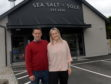 Rikki and Gillian Pirie, owners of Sea Salt and Sole. 26/06/2017. Picture by KATH FLANNERY