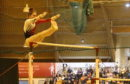 Izzy competing at the Scottish Championships.