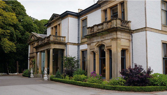 Norwood Hall Hotel is one of the venues included on the Safe to Trade list
