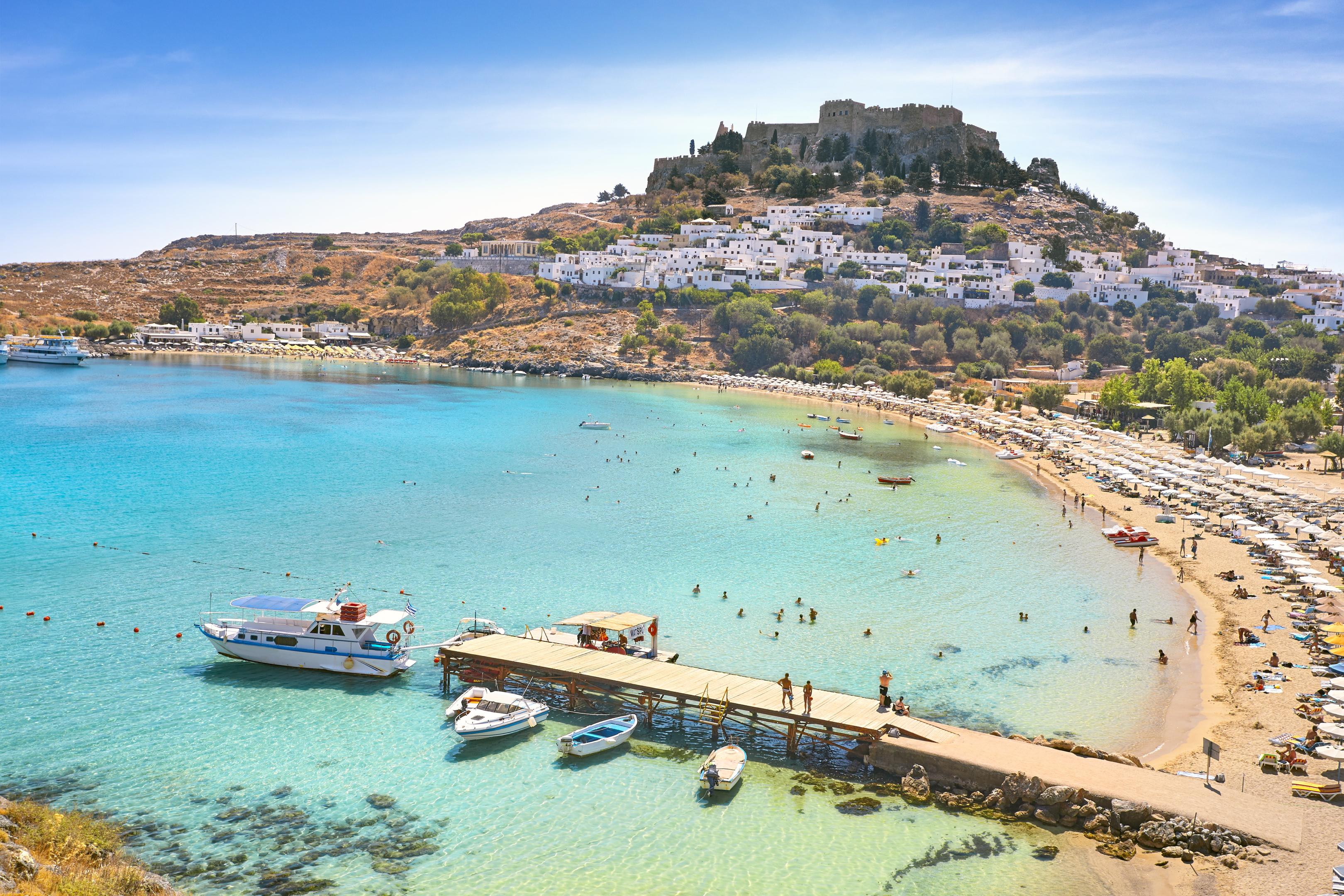 The flights to Rhodes will begin next year.