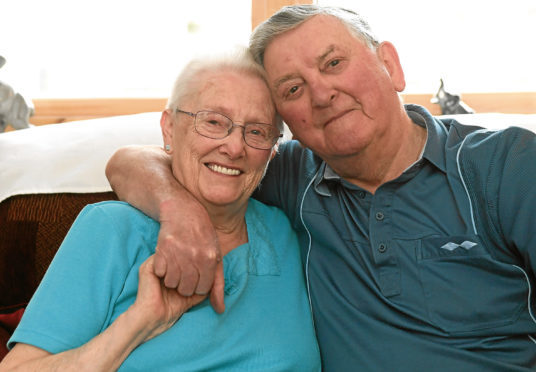 Jenny and James Miller are celebrating their 65th wedding anniversary.